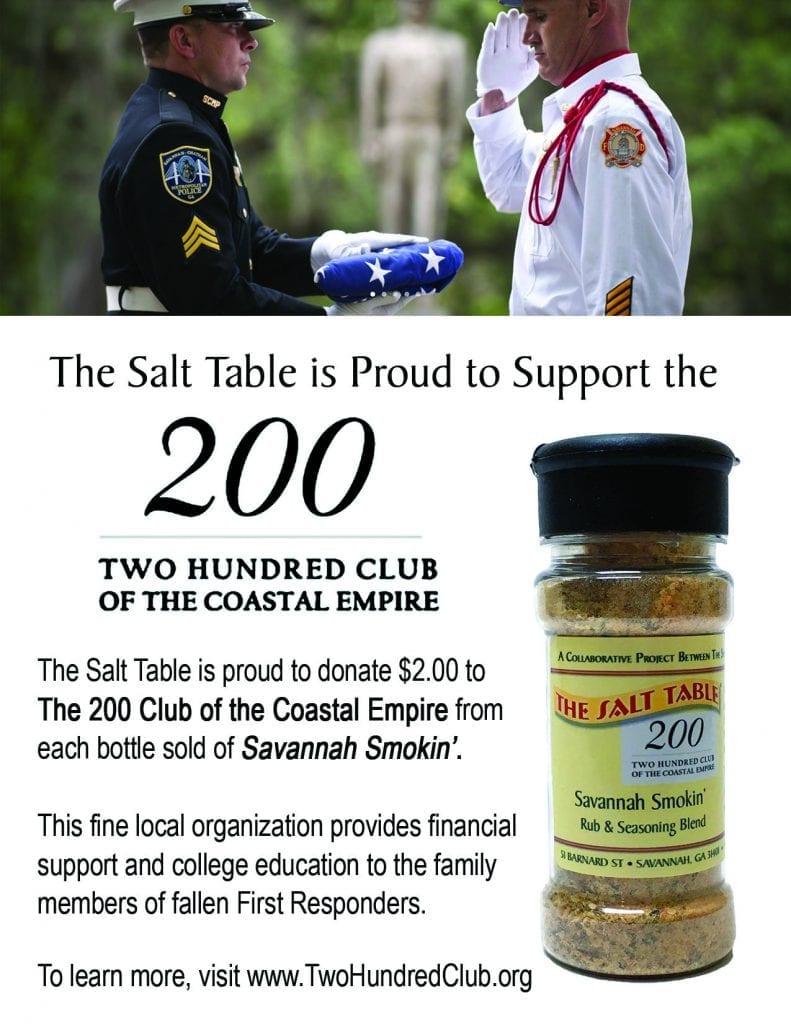 The Salt Table is a Savannah based brand of salts, seasoning blends ...