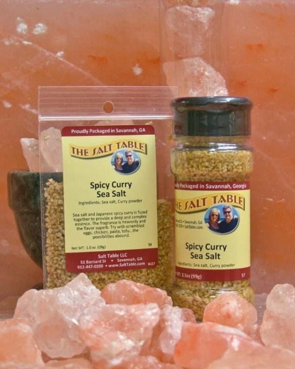 Spicy Curry Sea Salt