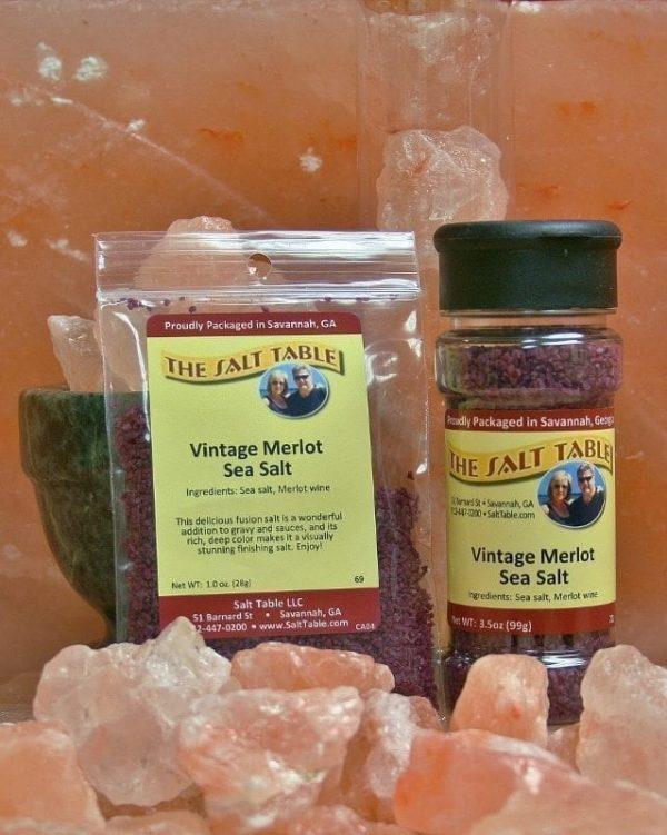 Vintage Merlot Sea Salt