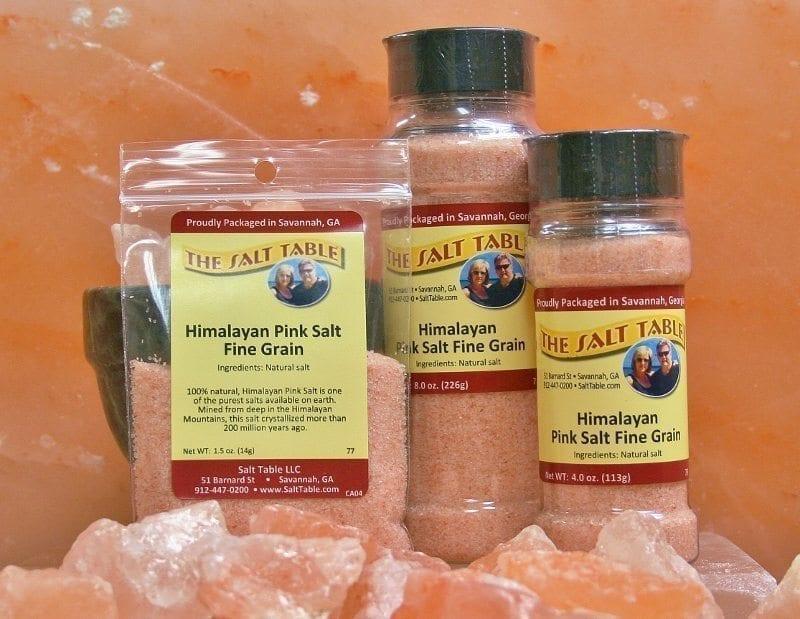 Himalayan Pink Salt Fine Grain