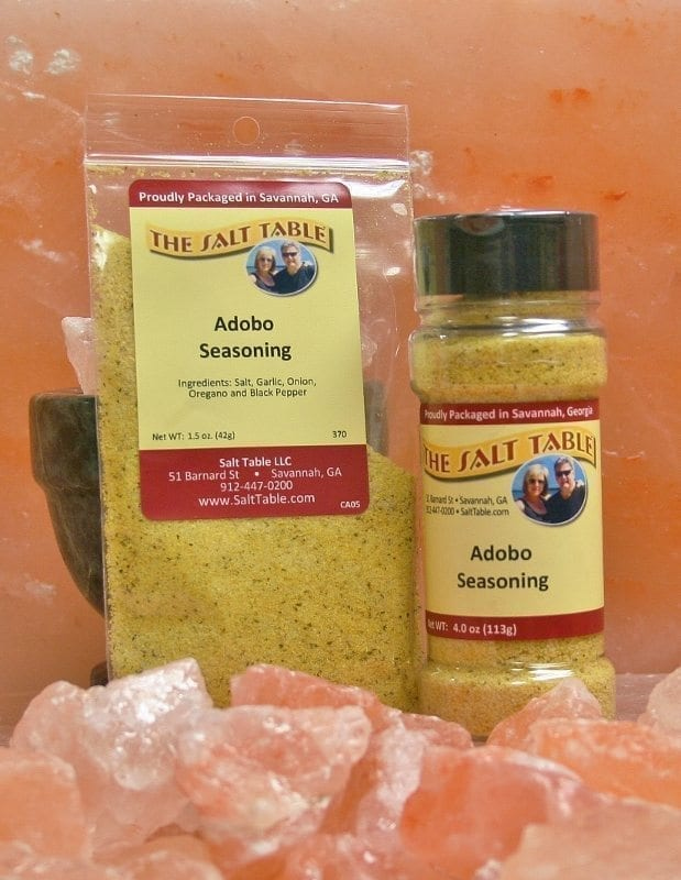 Adobo Seasoning Salt Table
