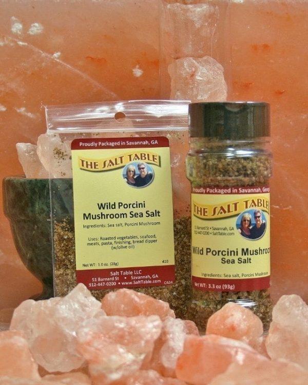 Wild Porcini Mushroom Sea Salt