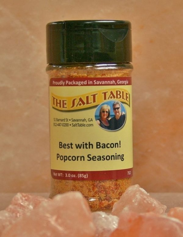 Best with Bacon! Popcorn and More Seasoning Salt