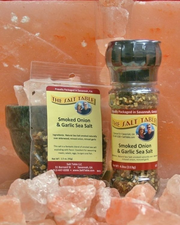Smoked Onion & Garlic Sea Salt