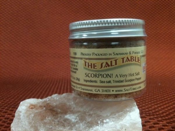 Scorpion Pepper Sea Salt