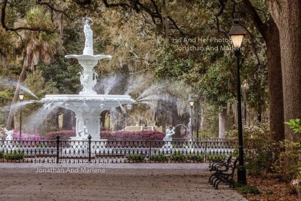 Savannah Collection Photo - Forsyth Park Fountain #Sav87