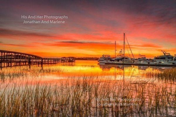 Savannah Collection Photo - Savannah Shrimp Boats THB#6