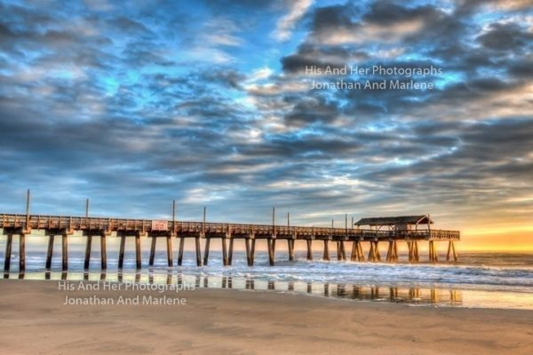 Savannah Collection Photo - Tybee Pier at Sunrise TYB#1