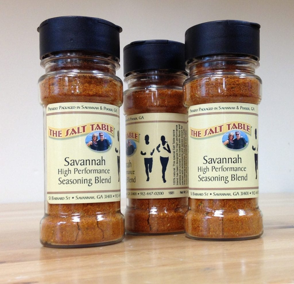 "New - Savannah ""High Performance"" Seasoning Blend for Runners & Athletes"
