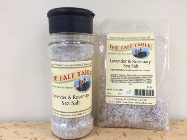 Lavender & Rosemary Sea Salt