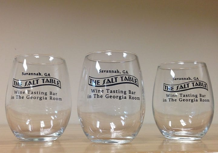 Salt Table Stemless Wine Glass