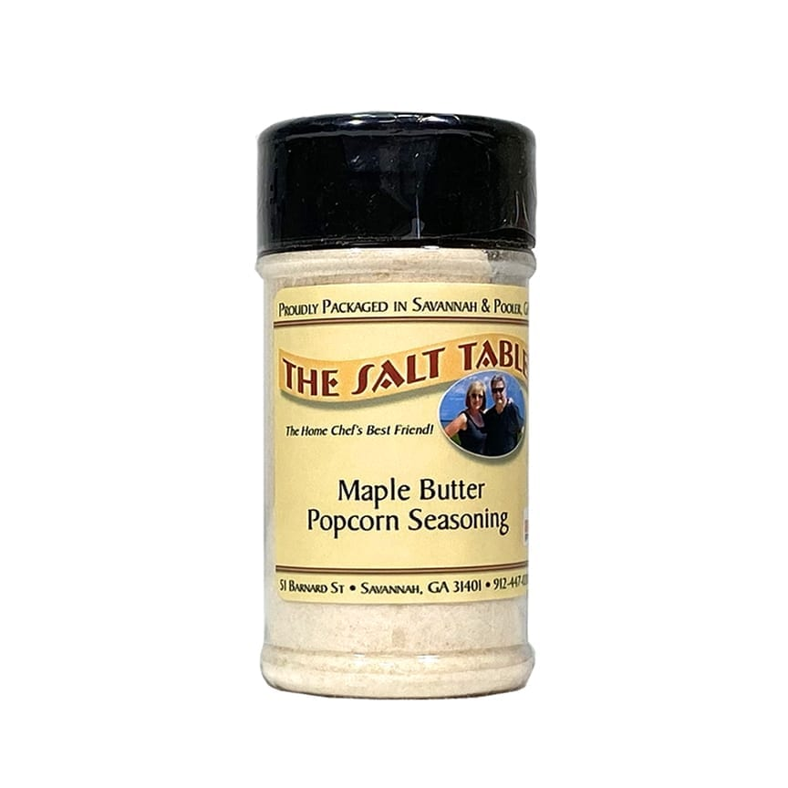 Maple Butter Popcorn Seasoning Salt Table