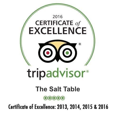 TripAdvisor Certificate logo 5 stars