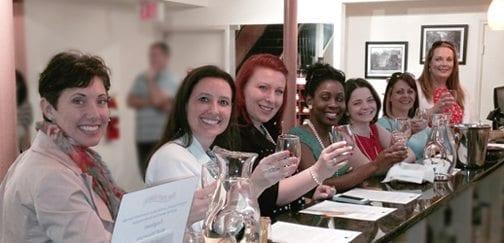Girl's getaway at The Salt Table's Georgia Wine Tasting Room